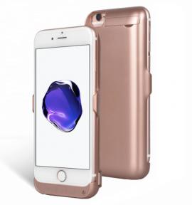 Чехол Зарядка Для Айфон 7 (Rose Gold) -7000Mah Battery Case Apple