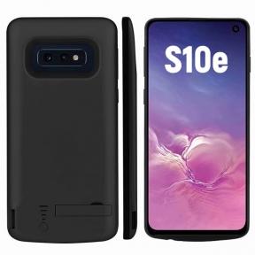 Чехол аккумулятор для Samsung S10e 5000 mAh black