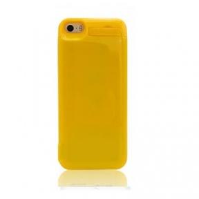 Чехол с аккумулятором для iPhone 5/5S/5C 4200 Mah (Yellow)