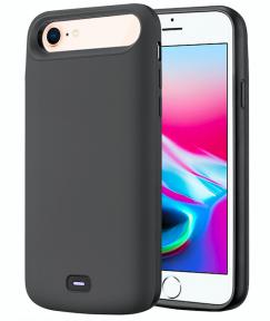 Чехол аккумулятор для iPhone 6/6S/7/8 audio - 5500 mah Grey