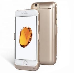 Чехол Зарядка Для Айфон 7 (Gold) -7000Mah Battery Case Apple