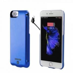 Чехол Зарядка iPhone 6+/7+/8 Plus 8000 Мач - Charge Pack (Синий)