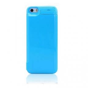 Чехол с аккумулятором для iPhone 5/5S/5C 4200 Mah (Blue)