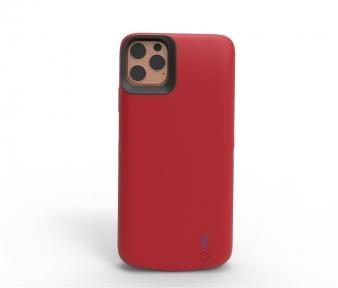 Чехол зарядка Power Case для iPhone 11 Pro Max 10000mAh красный