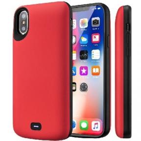 Чехол С Аккумулятором Для Iphone X/ Iphone 10 (Red) - 5000 Mah - Audio