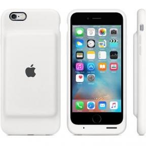 Чехол Батарея Smart Battery Case Для Iphone 6- White