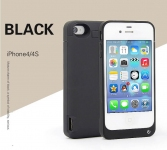 Чехол Батарея Iphone 4/4S 4000 Mah Black
