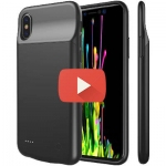 Lux Battery Case - Чехол Для iPhone X 3600 Mah Black