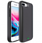 Чехол зарядка для iPhone 6S Plus / 7 Plus / 8 Plus 8000 mah Black